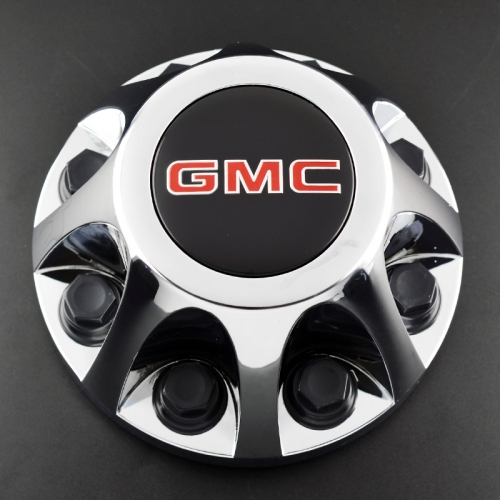GMC Wheel Center Caps 215mm 8 Lug Nuts #9597330