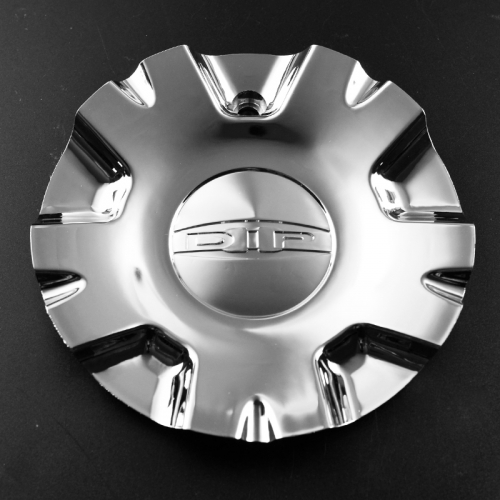 DIP Wheel Center Caps 165mm Chrome #C534801CAP