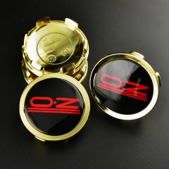 O.Z Wheel Center Caps 75mm(70mm) Gold M608