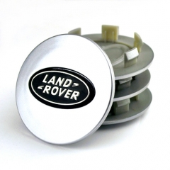 LAND ROVER Discovery 3 4 Wheel Center Caps 62mm(48mm) Grey Black