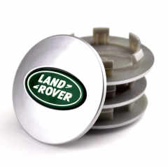 LAND ROVER Discovery 3 4 Wheel Center Caps 62mm(48mm) Grey Green