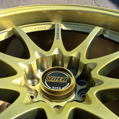 RAYS VOLK RACING Wheel Center Caps 66mm(62mm) Gold