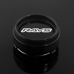 RAYS CE28 TE37 Wheel Center Caps 66mm(61mm) Black