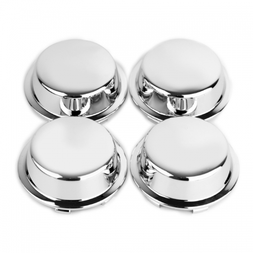 Chrome Wheel Center Caps 74mm(65mm)