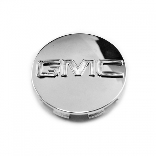 GMC Wheel Center Caps 83mm(76mm) Chrome #9595891