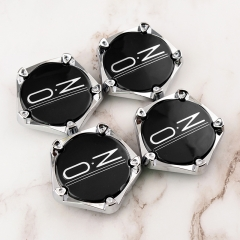 O.Z Wheel Center Caps 66mm Black M643