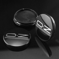 O.Z Wheel Center Caps 55mm Black M582