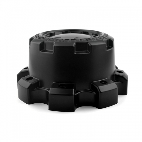 Ultra Wheel Center Caps 165mm 8 Lug Nuts Black