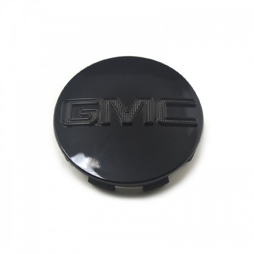 GMC Wheel Center Caps 83mm(76mm) Black #9595891