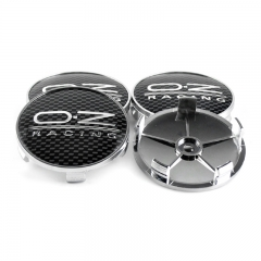 O.Z Racing Wheel Center Caps 68mm(65mm) Checkered