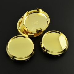 O.Z Wheel Center Caps 68mm Gold M673