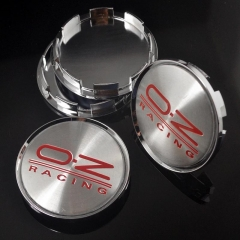 O.Z Racing Wheel Center Caps 63mm(57mm) M595 Replica Silver