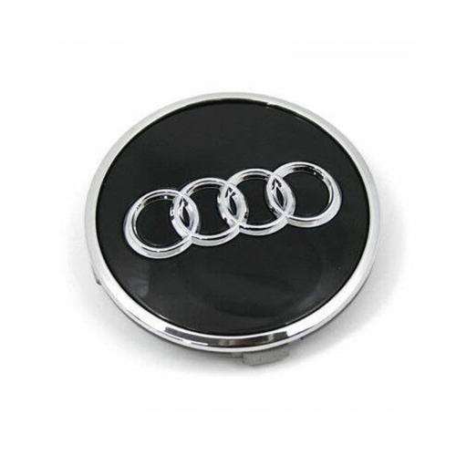 Audi A6 A6L Q5 Wheel Center Caps 69mm(55mm) Black #4B0601170A