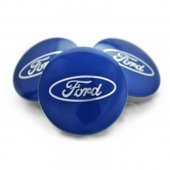 FORD Wheel Center Caps 54mm(51mm) Blue