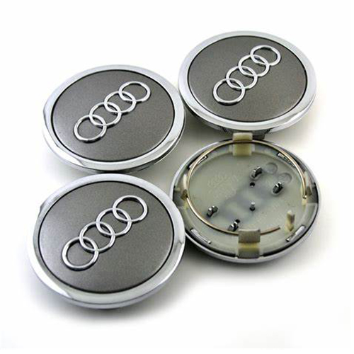 Audi A6 A6L Q5 Wheel Center Caps 69mm(55mm) Grey #4B0601170A