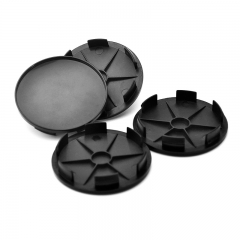 Black Wheel Center Caps 68mm(62mm)