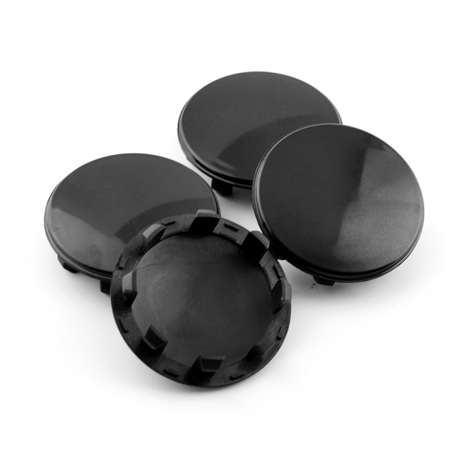 Tesla Model S X Wheel Center Caps 58mm(51mm) Black