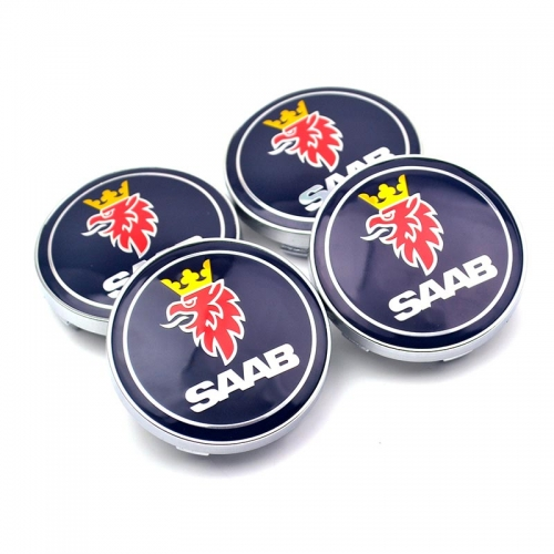 SAAB Wheel Center Caps 60mm(56mm)