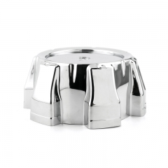 ION Alloy Wheel Center Caps 138mm Chrome 6 Lug Nuts
