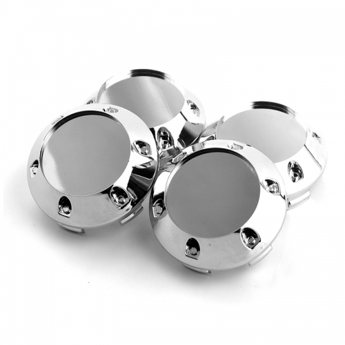 Ruff Racing Wheel Center Caps 59mm(56mm) Chrome