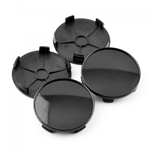 Black Wheel Center Caps 68mm(65mm)