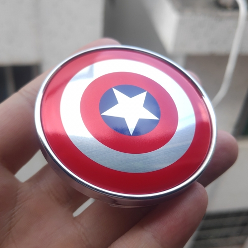 Captain America Wheel Center Caps 60mm(56mm)