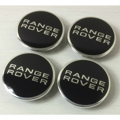 LAND ROVER RANGE ROVER Wheel Center Caps 62mm(48mm) Black