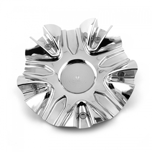 2Crave Wheel Center Caps 180mm Chrome #C524601CAP