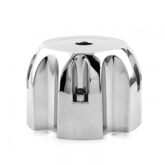 Chrome Wheel Center Caps 107mm 5 Lug Nuts