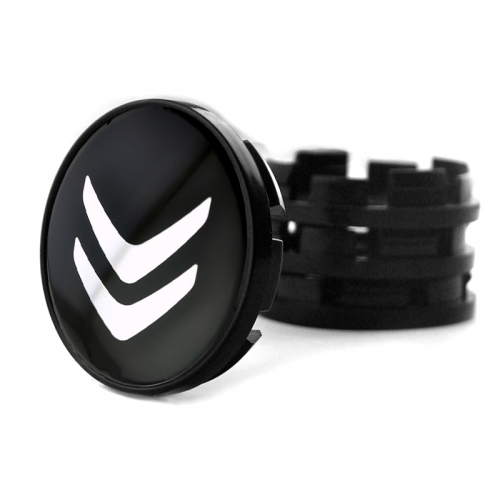 Citroen Wheel Center Caps 60mm(56mm) Black