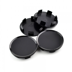 Black Wheel Center Caps 51mm(45mm)