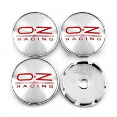O.Z Racing Wheel Center Caps 60mm(56mm) Red