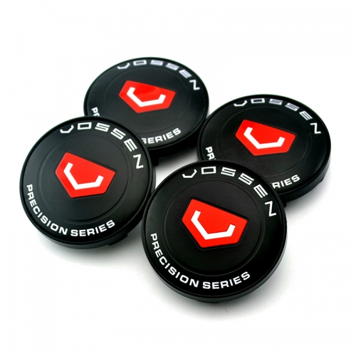 VOSSEN Wheel Center Caps 60mm(56mm) Black