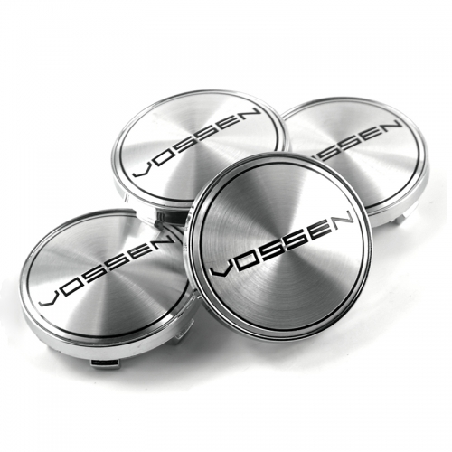 VOSSEN Wheel Center Caps 60mm(56mm) Silver