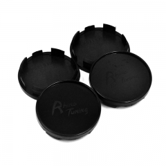 Black Wheel Center Caps 54mm(51mm)