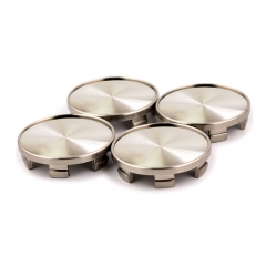 Gunmetal Wheel Center Caps 54mm(49mm)