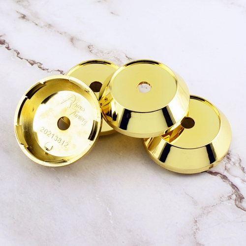 Gold Wheel Center Caps 65mm(60mm)