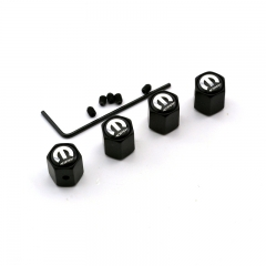 MOPAR Tyre Valve Dust Caps Black