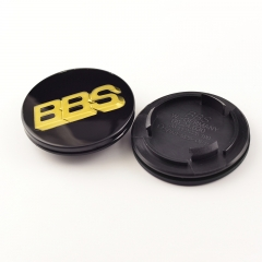 BBS RG RZ Wheel Center Caps 70mm(49mm) Gold #09.24.030