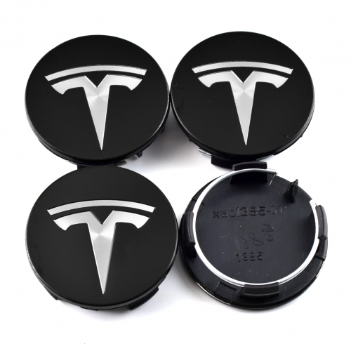 Tesla Model 3/S/X Wheel Center Caps 57mm(50mm) Black