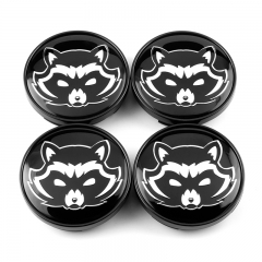 Rocket Racoon Wheel Center Caps 60mm(56mm)