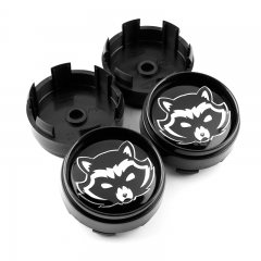 Rocket Racoon Wheel Center Caps 67mm(63mm)