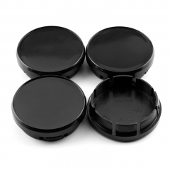 Black Wheel Center Caps 50mm(44mm)
