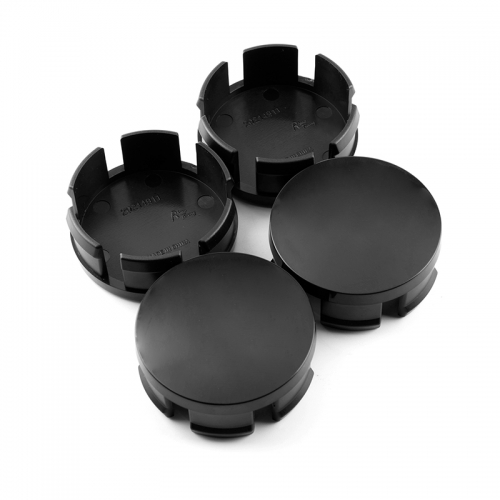 Black Wheel Center Caps 56mm(55mm) for Honda