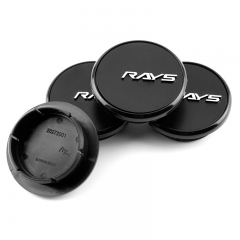 Maserati RAYS Wheel Center Caps 56mm(43mm) Black