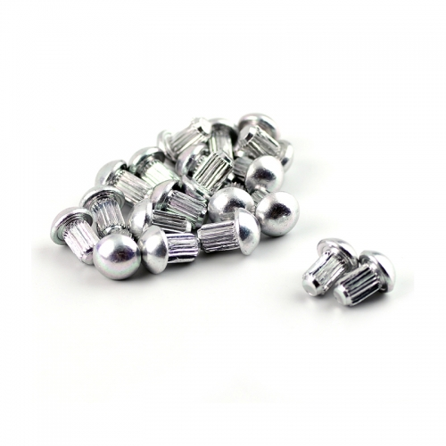 Metal Dome Wheel Rim Lip Rivets Nuts