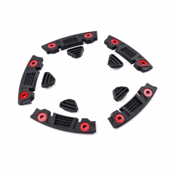 TUFF T-10 Wheel Trim Strip Kit Black