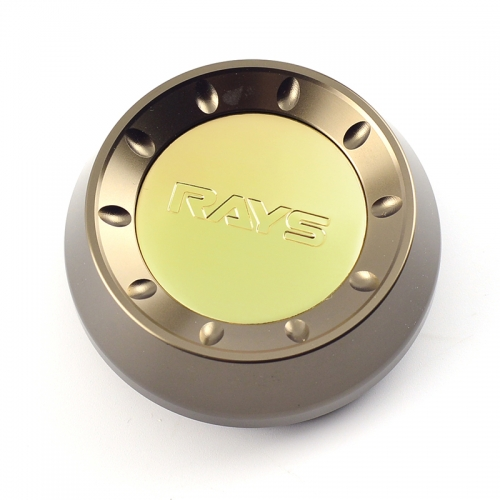 RAYS CE28 ZE40 Wheel Center Caps 66mm(61mm) Gold Bronze