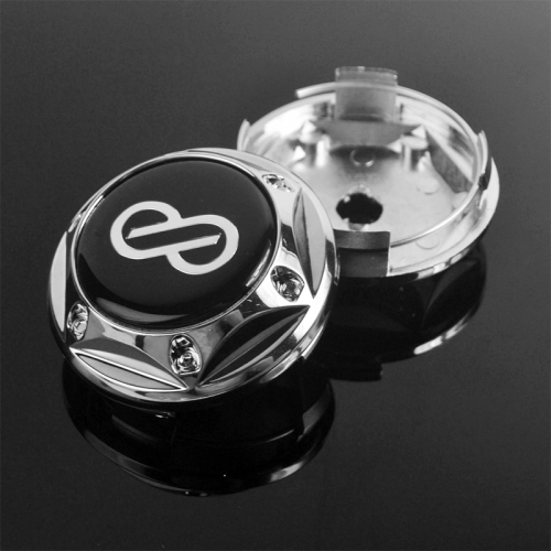 Enkei Wheel Center Caps 68mm(61mm) with 6 Decorative Screws #900131