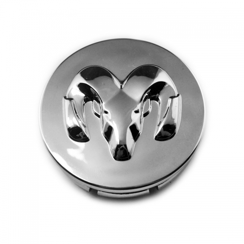 DODGE RAM Wheel Center Caps 54mm(46mm) Chrome #63428K 54-MM